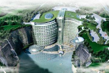 hotel-songjiang-construido-en-una-antigua-cantera