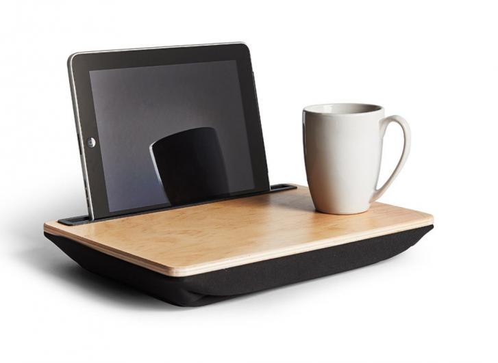 Ibed soporte cojin hace de bandeja para usar tu tablet en - Soporte tablet cama ...