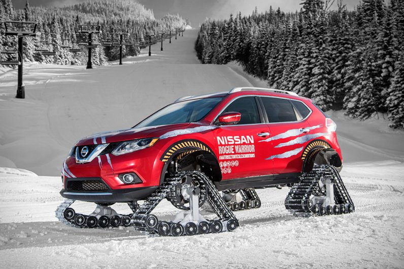 nissan-rogue-warrior-snow-track-crossover
